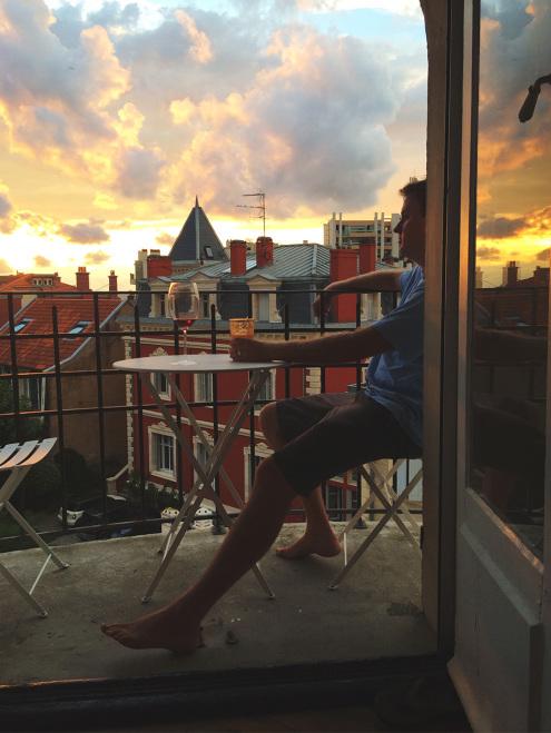 Balcony-Sunset