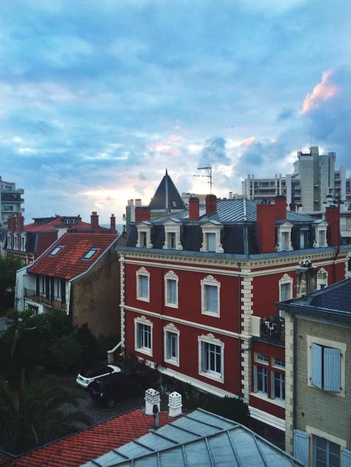 Biarritz-Blue-Sunset