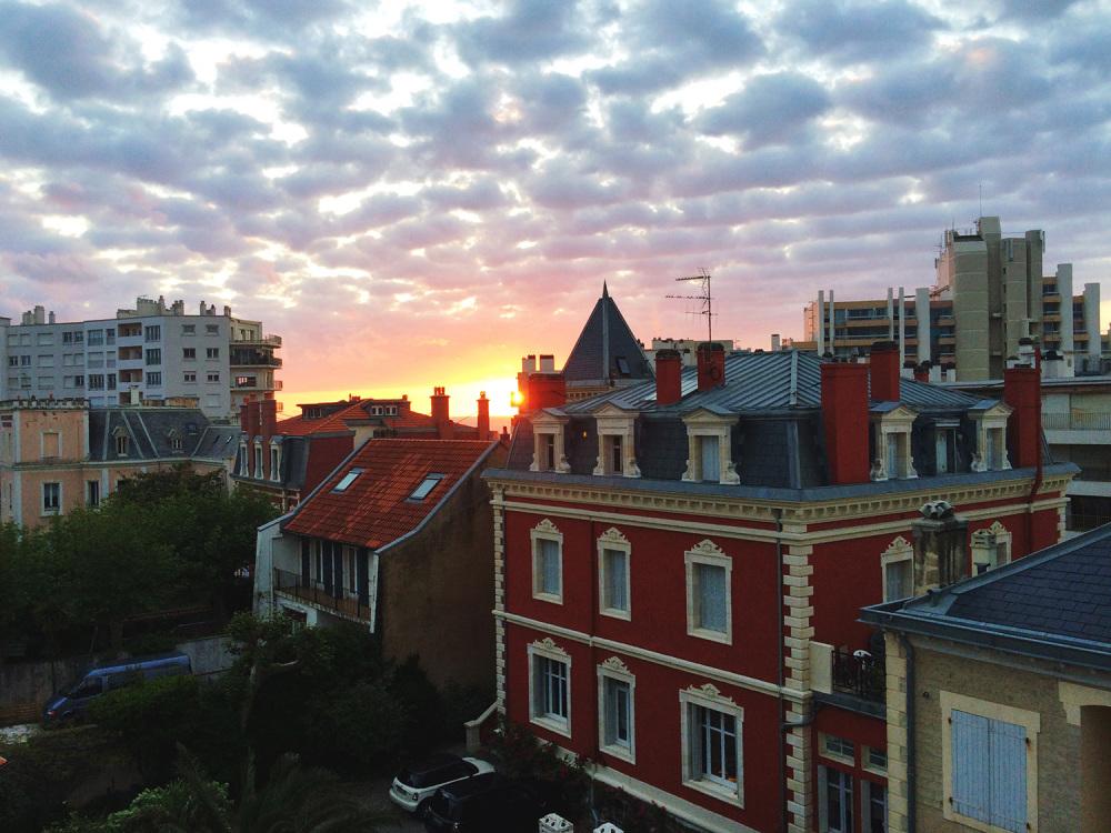 Biarritz-Sunset