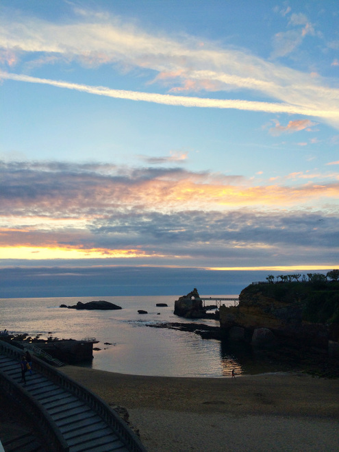Port-Vieux-Biarritz-Sunset