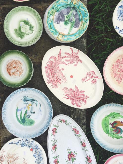 Beautiful Plates | Sare, Brocante, France