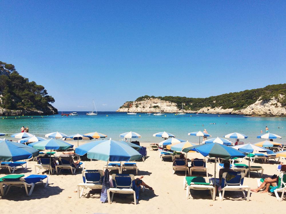 CalaGaldana-Umbrellas-Menorca