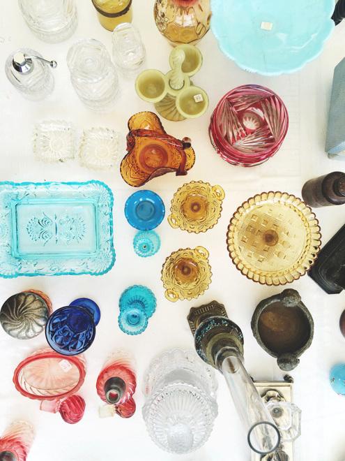 Colorful Glassware | Sare, France