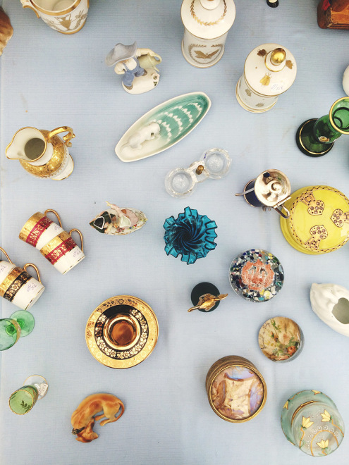 Colorful Trinkets | Sare Brocante, France