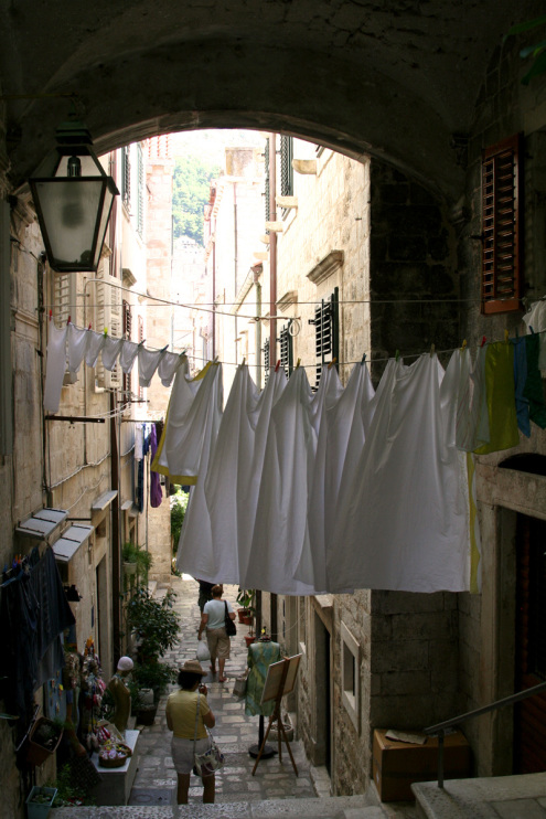 Drying Laundry | Dubrovnik, Croatia
