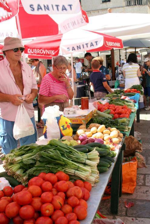 Farmers Market | Dubrovnik, Croatia