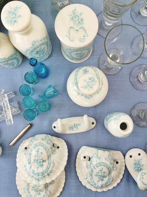 Shades of Blue | Sare Brocante, France
