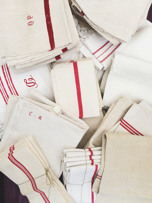 Vintage Linens | Sare Brocante, France