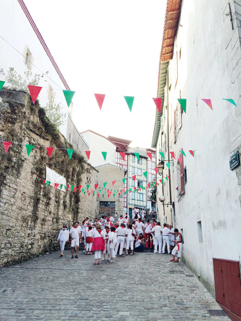 Basque Colors | Fêtes de Bayonne