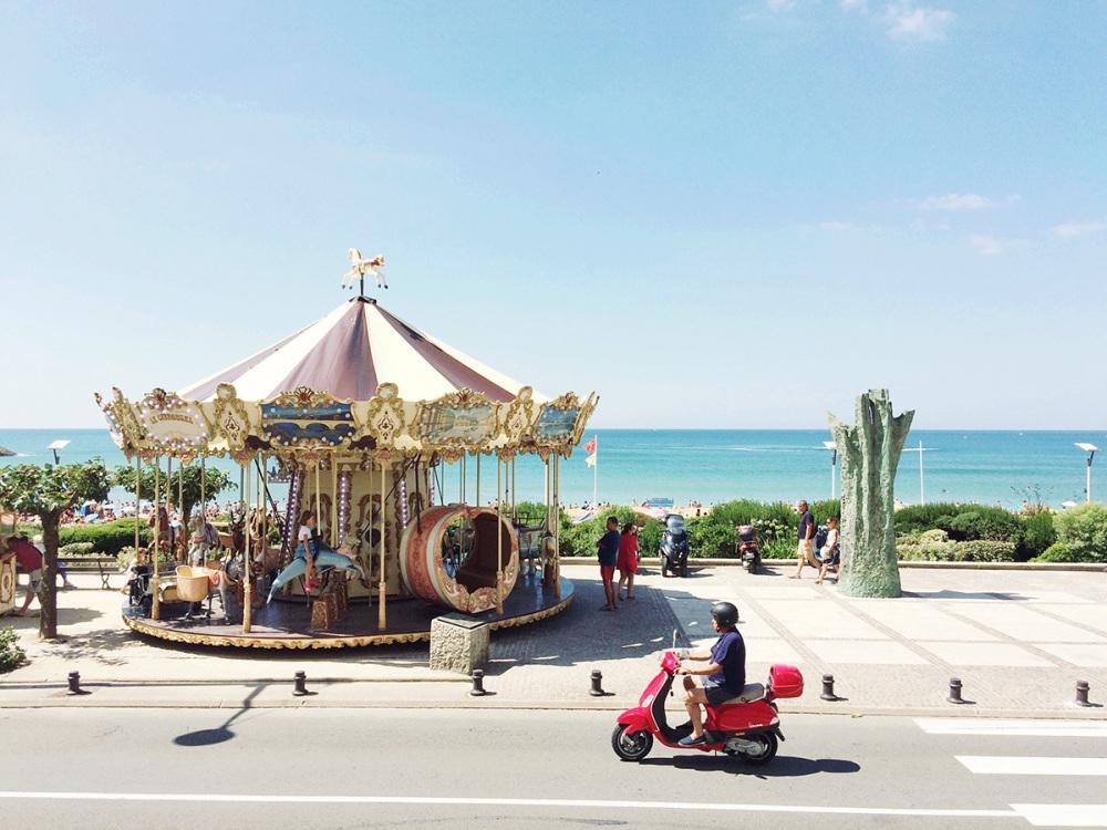 Carousel à la Grande Plage | Biarritz,France
