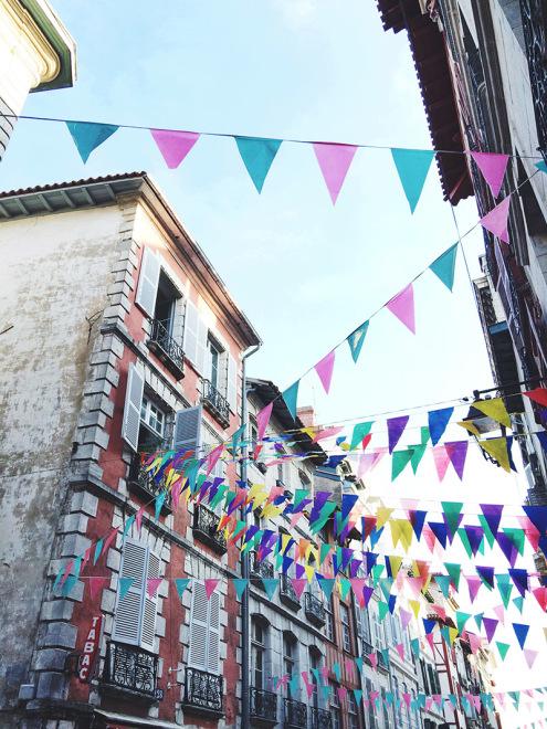 Festive Flags | Fêtes de Bayonne