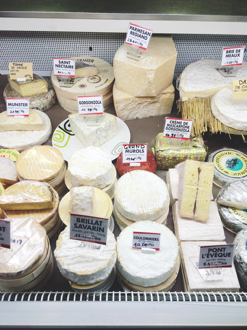 Fromage | LesHalles, Biarritz, France