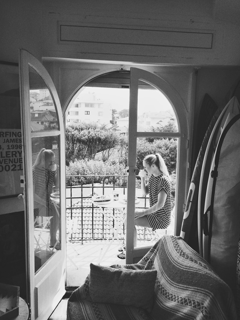 Mornings on the Balcony | Biarritz, France
