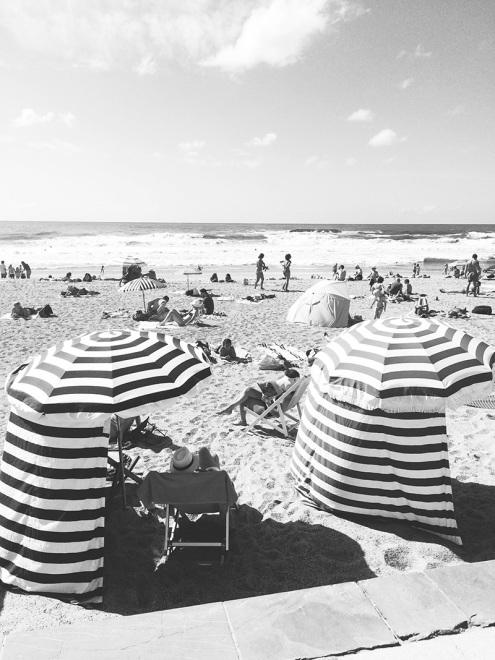Parasols à la Grande Plage | Biarritz, France