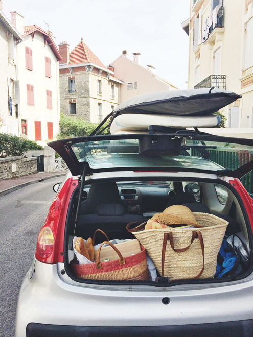 Surfboards, Baguettes & Baskets