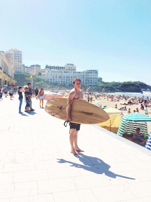 Surfer à la Grande Plage | Biarritz, France