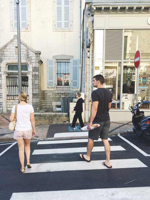 The Shivelys In Biarritz