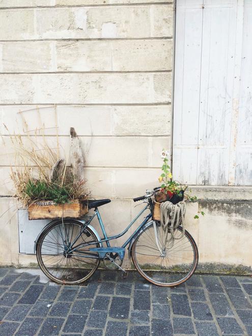 Vélo à Pauillac, France