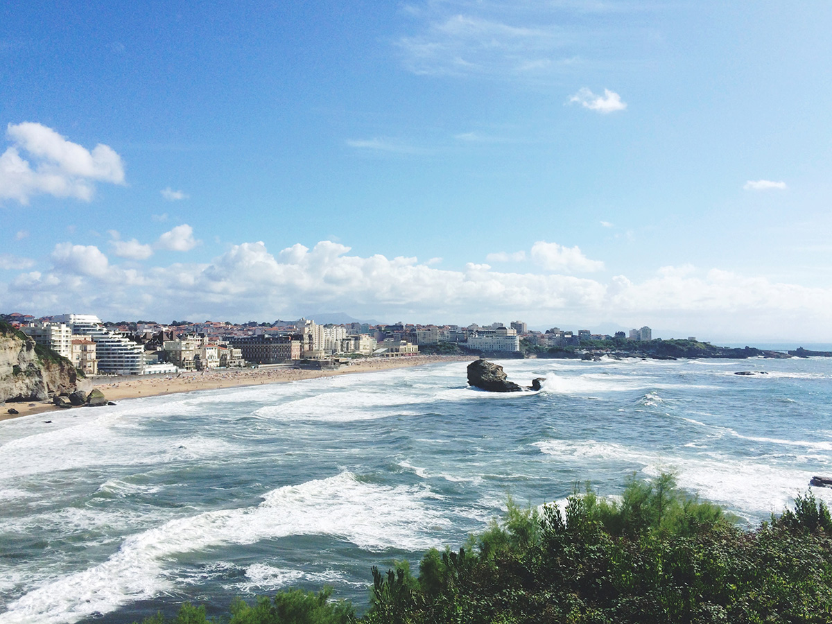 View from the Lighthouse | Biarritz, France