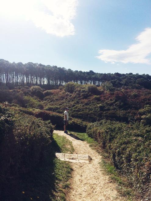 Trail views along the Sentier du Littoral