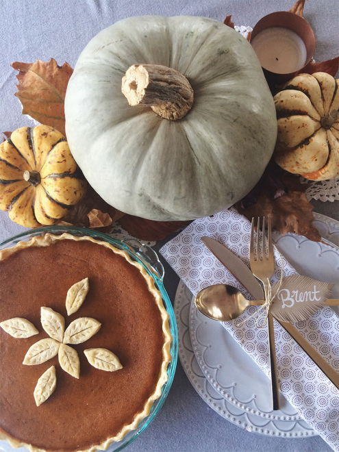 Fall Table Settings | Thanksgiving in France