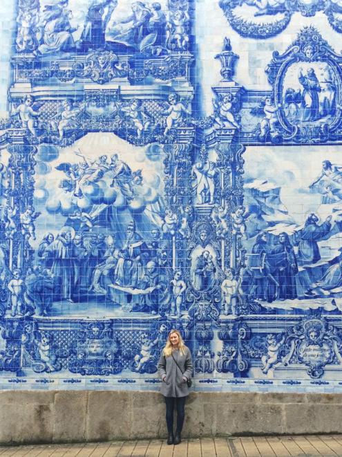 Gorgeous Tiles in Porto, Portugal
