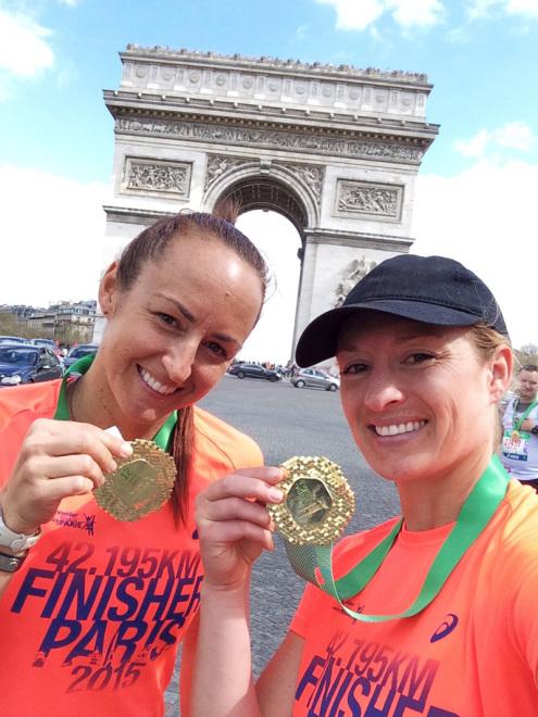 Paris Marathon Finishers