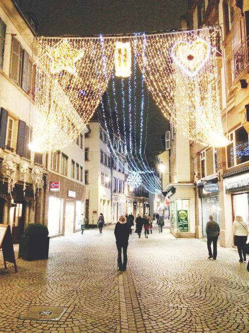 Strasbourg Christmas Lights