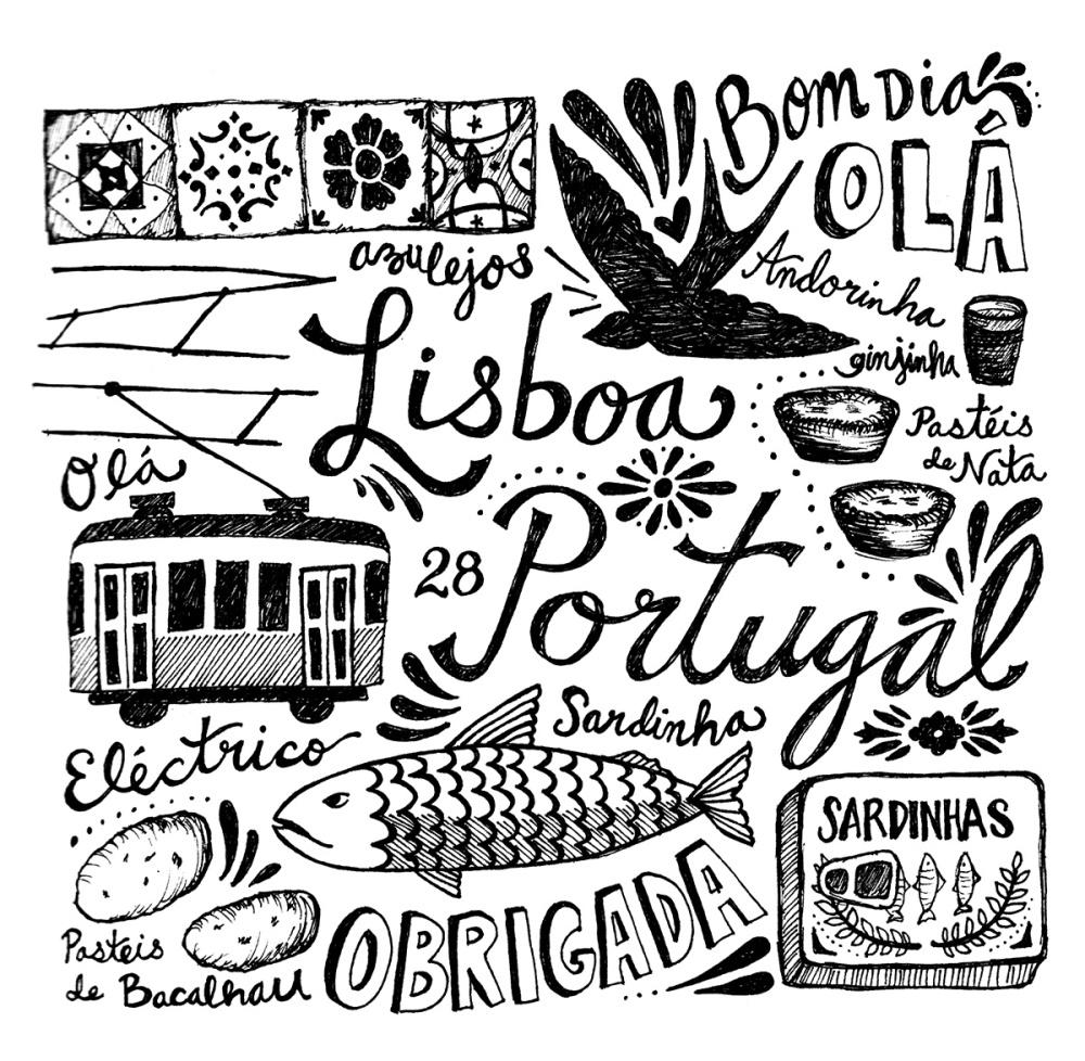 Lisbon, Portugal by Rebecca Kudela