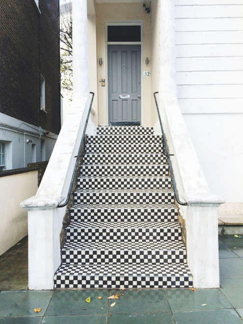 Checkered Steps | Notting Hill, London