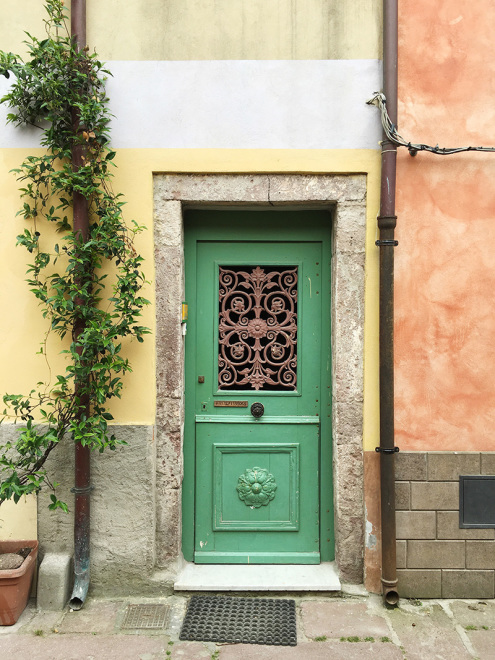 Colors on the streets of Bosa, Sardinia