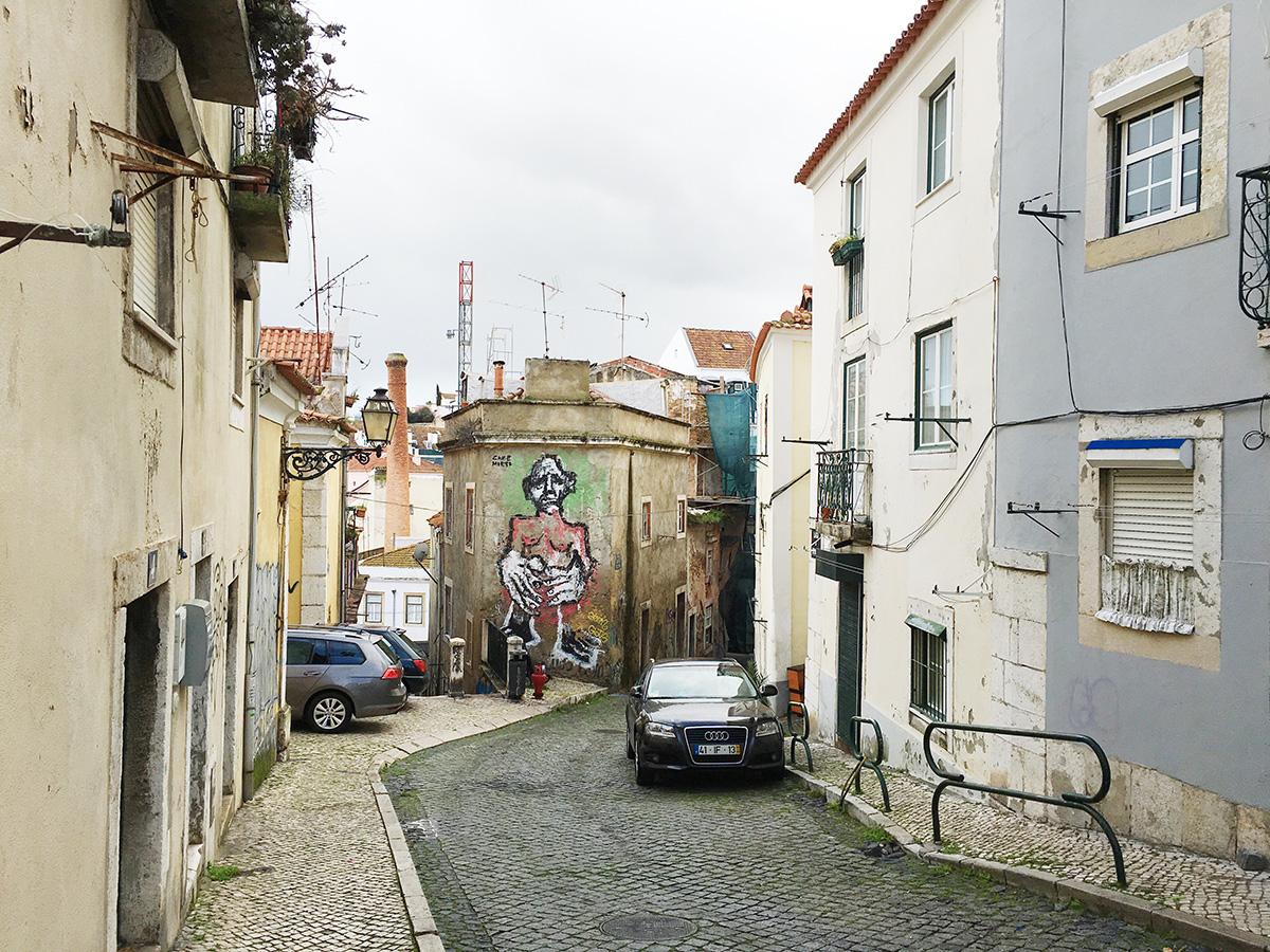 Graffiti on the streets of Lisbon
