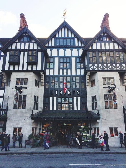 Liberty London Storefront