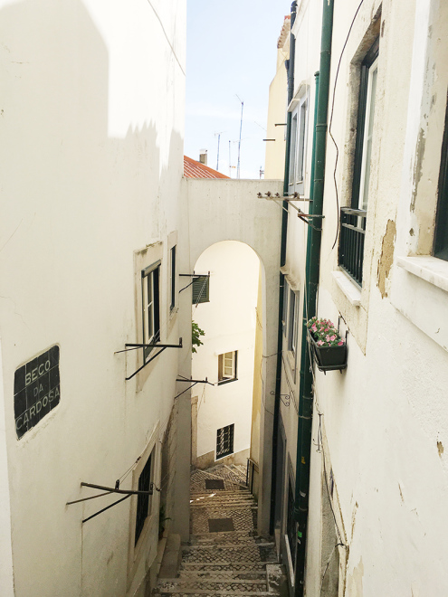 Passageway in Lisbon