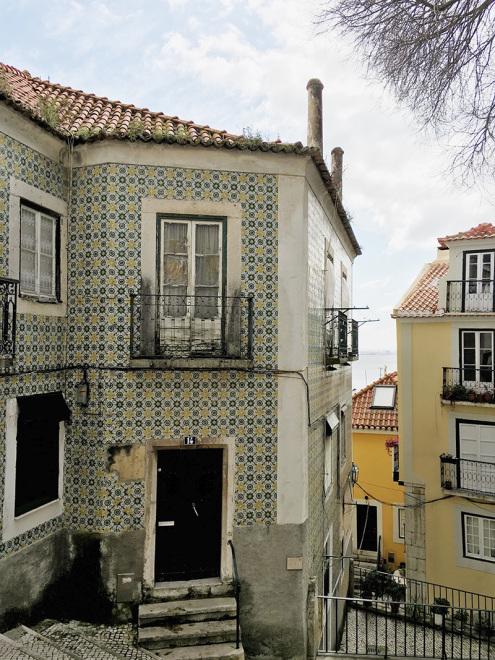 Tiles of Alfama   Lisbon, Potugal