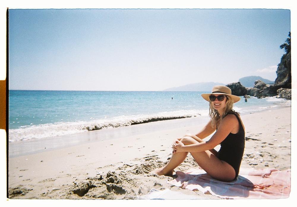 Becca Enjoying Cala Fuili | Sardinia, Italy