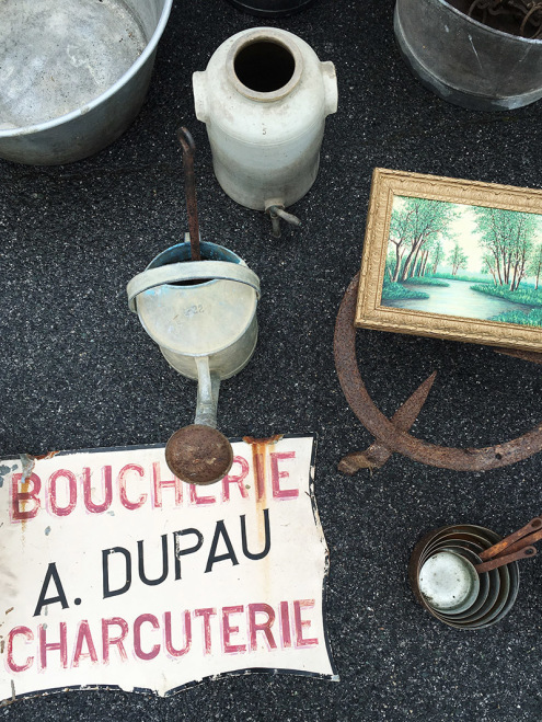 Boucherie | Ahetze Brocante, France