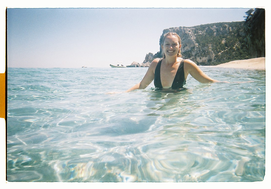 Happiness Is Swimming In The Mediterranean
