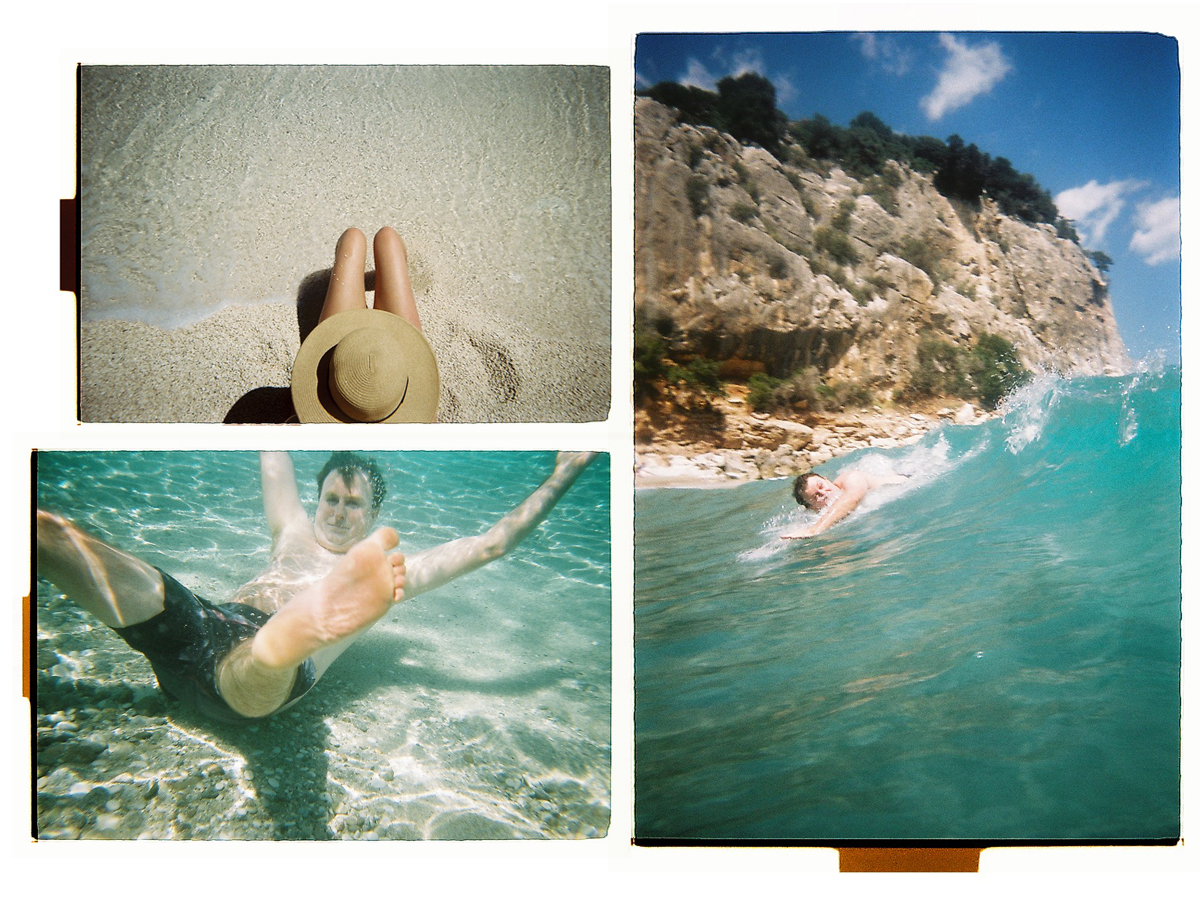Swimming In Sardinia