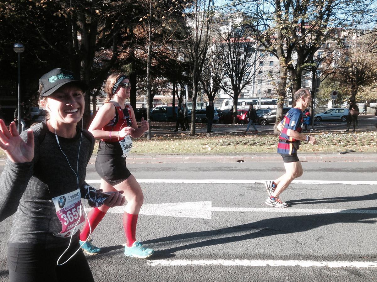 Becca Runs San Sebastian | The Baguettenbergers