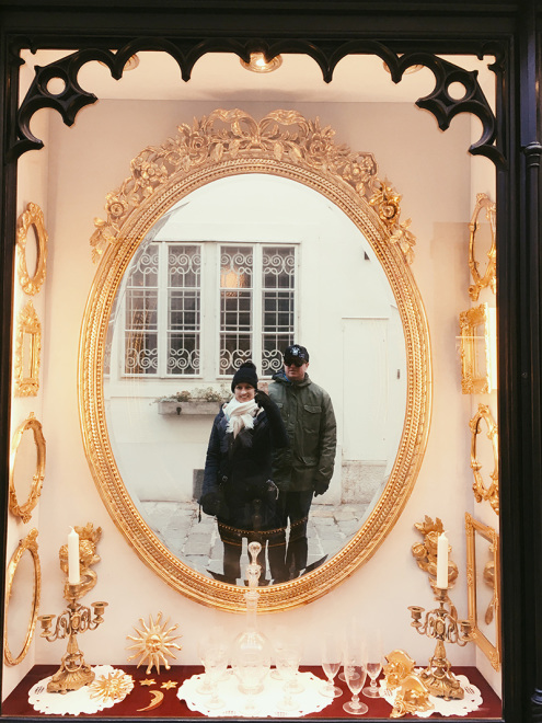 The_Baguettenbergers_Vienna_Austria_Gold_Mirror